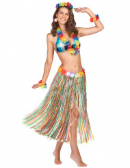 Gonna Lunga Multicolore Hawai