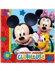 20 tovaglioli di carta Mickey Mouse™ 33 x 33 cm