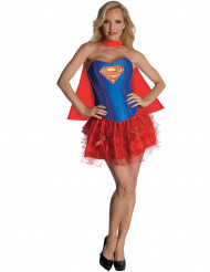 Costume Supergirl™sexy adulto