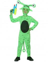 Costume da alieno verde per bambino