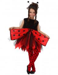 Costume da dolce coccinella bambina