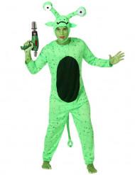 Costume alieno verde uomo
