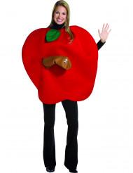 Costume da mela bacata da adulto