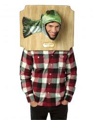 Costume da trofeo pesce spigola per adulto