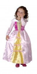 Costume satinato principessa bambina