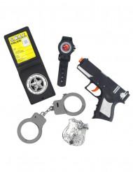 Kit accessori poliziotto bambino
