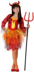 Costume regina dei diavoli bambina