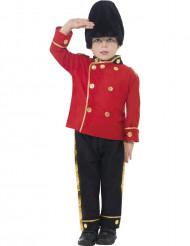 Costume da guardia inglese per bambino
