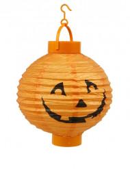 Lanterna a led luminosi zucca di Halloween