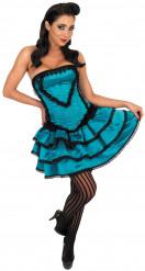 Costume ballerina burlesque blu donna