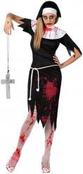 Costume suora zombie