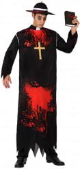 Costume prete zombie uomo