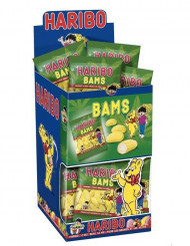 Mini sacchetto di caramelle Haribo banane