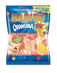Sacchetto di caramelle Haribo orangina rosa