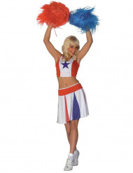 Costume da cheerleader per donna