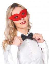 Mascherina rossa appuntita adulti