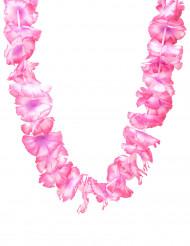 Collana  hawaiana rosa