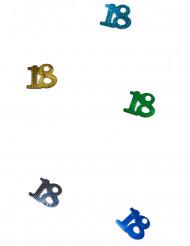 Coriandoli da tavola multicolori numero 18