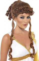 Parrucca da dea greca donna