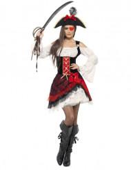 Costume piratessa glamour donna