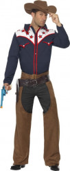 Costume cowboy completo uomo