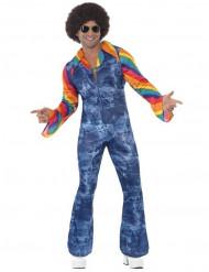 Costume disco effetto jeans uomo