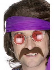 Baffi marroni anni 70