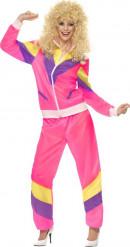 Costume sportiva Anni '80 donna