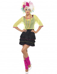 Costume Anni '80 cantante pop donna