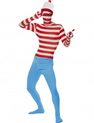 Costume seconda pelle Dov'è Wally?™ per uomo