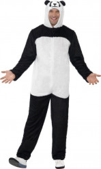 Costume panda adulto