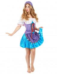 Costume da gitana deluxe per donna