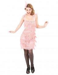 Costume anni 20 rosa donna