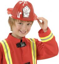 Casco Pompiere rosso