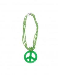 Collana Hippie verde