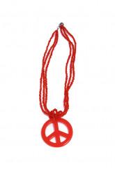Collana Hippie rossa