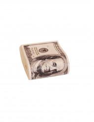 Finto malloppo di dollari americani