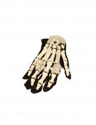 Guanti da scheletro luminosi