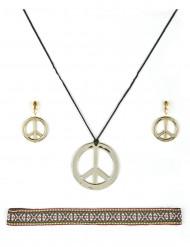 Set gioielli hippie adulto