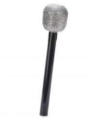 Microfono cantante paillettato