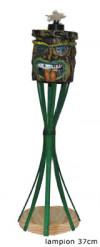 Torcia bambou tiki