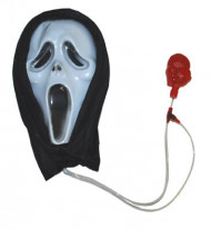 Maschera bianca Halloween
