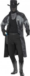 Costume fantasma sceriffo uomo halloween
