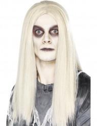 Parrucca lunga bianca uomo