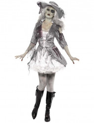 Costume fantasma pirata Halloween donna