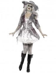 Costume fantasma pirata Halloween donna
