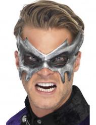Maschera fantasma grigia adulto
