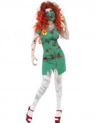 Costume zombie infermiera halloween