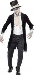 Costume zombie gentleman uomo Halloween