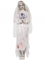 Costume zombie sposa donna Halloween